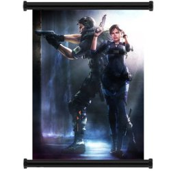 """Resident Evil Revelations Game Fabric Wall Scroll Poster (16"""" X 22"""") Inches"""
