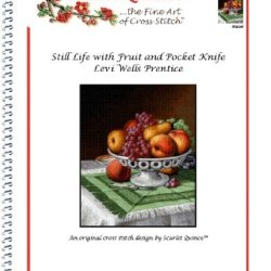 Still Life With Fruit And Pocket Knife - Levi Wells Prentice: Counted Cross Stitch Chart (Regular Size Symbols)
