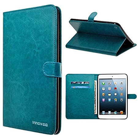 INNOVAA Premium Leather Wallet Case with STAND Flip Cover. Wallet Card Case: Card storage convenient for daily essentials and cash compartment. Free Stand Feature:Comfort built-in horizontal media view.Poly Synthetic Leather: Frame is built with a du...