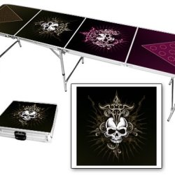 Skull Dagger 8 Foot Beer Pong Table