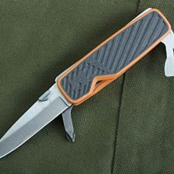 Multi Tool Folding Survival Knife Bear Grylls Pocket Tool-5.51''
