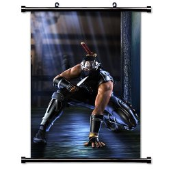 """Ninja Gaiden Videogame Fabric Wall Scroll Poster (32"""" X 45"""") Inches"""