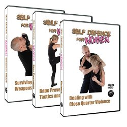 Self Defence For Women 3 Dvd Training Set , Learn Knife Defence, Rape Prevention And Close Up Violence Defence.