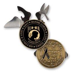 U.S. Pow Mia Knife Challenge Coin