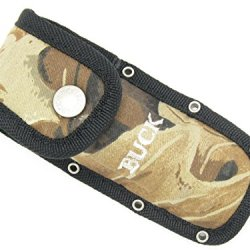 Buck 276 277 Sheath Folding Alpha Hunter Durable Camo Knife Holster Sheath ~ New