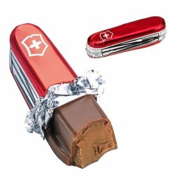 Milk Chocolate Praline Swiss Army Knife - Ideal For Fathers Day Gifts X3