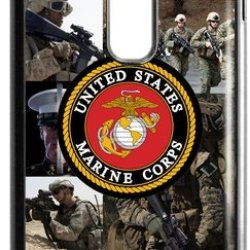 Lilichen Forever Collectible Usmc Marine Corps Case Cover For Lg G2 (Fit For At&T) -- Desgin By Lilichen