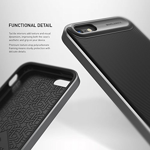 iPhone-SE-Case-Caseology-Wavelength-Series-Textured-Pattern-Grip-Cover-Shock-Proof-for-Apple-iPhone-SE-2016