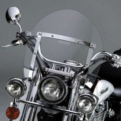 National Cycle Switchblade Shorty Windshield - Clear N21715