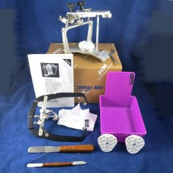 Dental Laboratory Whip Mix Articulator 2240 With #8645 Face Bow New