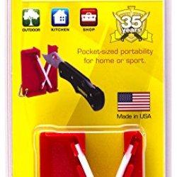 Lansky Sharpeners Lckey Mini Crock Stick Pocket Sharpener