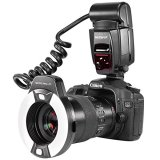 Neewer-Macro-TTL-Ring-Flash-Light-with-LED-AF-assist-lamp-for-Canon-E-TTL-TTL-Cameras-such-as-Canon-EOS-5D-Mark-II-EOS-6D-EOS-7D-EOS-70D-EOS-60D-EOS-60Da-EOS-700D-650D-600D-400D-350D-300D-100D-1000D-1