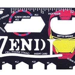 Verany Iron Man 22 In 1 Multi-Purpose Credit Card Size Pocket Tool
