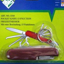 13-Function Pocket Knife