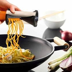 Spiralizer Envy Spiral Slicer, Vegetable Cutter, Zucchini Spaghetti Pasta Maker, Lifetime Guarantee