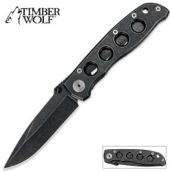 Timber Wolf Battle Worn Tactical Knife