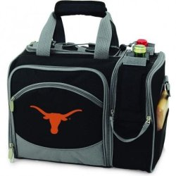 Texas Longhorns Malibu Insulated Picnic Shoulder Pack/Bag - Navy W/Embroidery