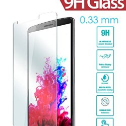 Lg G3 Screen Protector, Irag® 0.33Mm 9H Premium Tempered Glass Screen Protector For Lg G3 - Protect Your Screen From Drops, Scratches And Shatterproof