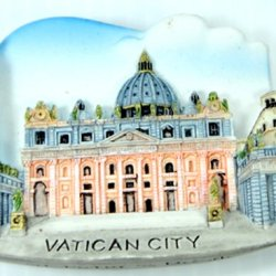 Vatican City Italy Souvenir Fridge Magnet Magnetic Collectibles Cute Charm Gift Hand Sculpting And Hand Painting 3D