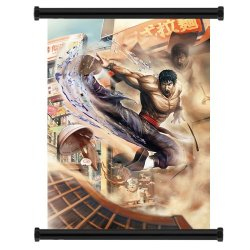 "Street Fighter X Tekken Law Game Fabric Wall Scroll Poster (16""X22"") Inches"