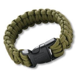 Crkt New - No Discount - Onion Para-Saw Bracelet, Small, Od Green