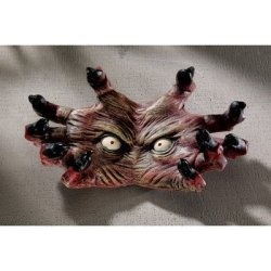 Design Toscano The Creepy Thing Wall Sculpture, Multicolored