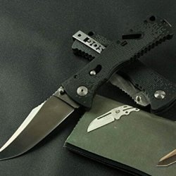 Serrated Tactical Survival Rescue Camping Hunting Folding Sharp Clip Knife-8.66''