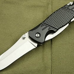 Black Rescue Spring Multi-Tools Open Folding Pocket Glby9075-7.5''
