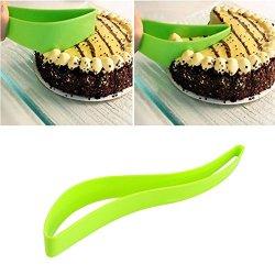 Udtee 2Pcs New Bread/Cake/Pie/Slicer/Sheet Guide Cutter/Server/Knife Kitchen Gadget