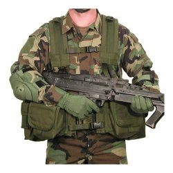 Blackhawk! Lrak M240/Saw Olive Drab Gunner Kit