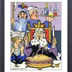 Framed Print Of Sing A Song Of Sixpence