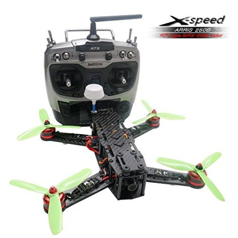 ARRIS-X-Speed-250B-250mm-Quadcopter-Racer-FPV-250-Racing-Drone-RTF-With-F3-Flight-Controller-HD-Camera-FPV-TX-Radiolink-AT9-Transmitter