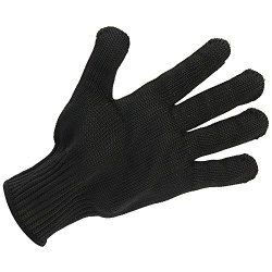 One Pair Black Anti-Slash Cut Proof Static Stab Resistance Protective Gloves