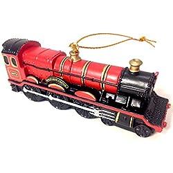 Wizarding World of Harry Potter Hogwarts Express Train Engine Resin Christmas Tree Ornament