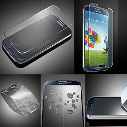 Xtra-Funky Exclusive High Quality Real 100% Genuine Tempered Glass Screen Protector For Samsung Galaxy S4 (I9500 - I9505)