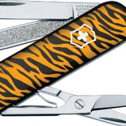 Victorinox Swiss Army Classis Sd Animal Prints Multi Tool (Tiger)