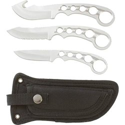 Maxam 4Pc Field Dress Knife Set - Skfb3Pc
