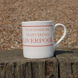 Stubbs Mugs I'D Rather Be Watching Liverpool Mug Bone China