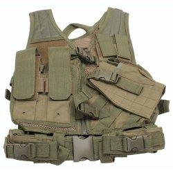 Vism Childrens Tactical Vest, Green Ctvc2916G