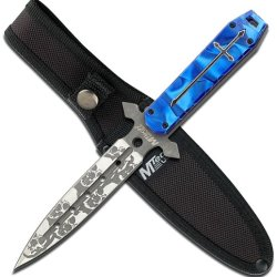Mtech Usa Mt-20-23Bl 9.25-Inch Overall Fixed Blade Knife