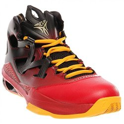 Nike Men'S Jordan Melo M9 Blck/Mtlc Gld Str/Gym Red/Unvrs Basketball Shoes 10 Men Us