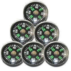 New Wholesale Lot Of 24Pc 20Mm Small Mini Pocket Compasses