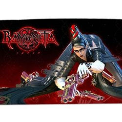 A Wide Variety Of Bayonetta Game Characters Desk & Mouse Pad Table Play Mat (Bayonetta 1)