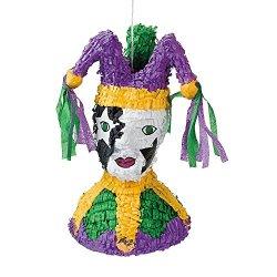 Papier-Mâché Mardi Gras Jester Piñata