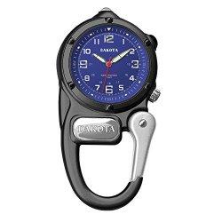 Dakota Watch Company Mini Clip Microlight Watch, Black