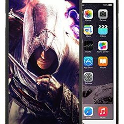 Diy Assassins Creed Desmond Miles Graphics Knife Hand Iphone 6 Plus 5.5 Inch Black Phone Case
