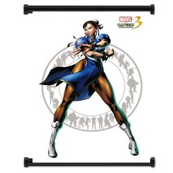 Marvel Vs Capcom 3 Chris Redfield Game Fabric Wall Scroll Poster (16X21) Inches
