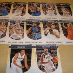 2011-12 Panini Nba Hoops Dallas Mavericks Team Set - Nba Champions (11 Cards ) 3 Dirk Nowitzki, Jason Kidd, Lamar Odom, Vince Carter, Shawn Marion & More