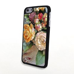 Generic Phone Accessories Matte Hard Plastic Phone Cases Blossom Carnation Fit For Iphone 5C