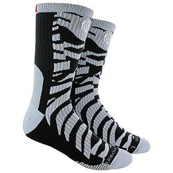 Adidas Derrick Rose Performance Crew Socks - Black/Slate